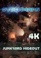 Cybermaps: Junkyard Hideout 4k