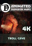 Animated Dungeon Maps: Troll Cave 4k
