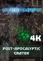 Cybermaps: Post-Apocalyptic Crater 4k