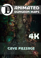 Animated Dungeon Maps: Cave Passage 4k
