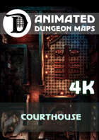 Animated Dungeon Maps: Courthouse 4k