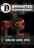 Animated Dungeon Maps: Salon and Spa