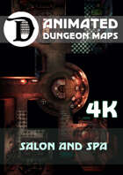 Animated Dungeon Maps: Salon and Spa 4k