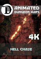 Advanced Animated Dungeon Maps: Hell Chase 4k