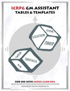 Icrpg Gm Assistant - Tables & Templates
