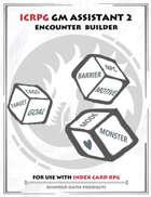 Icrpg Gm Assistant 2 - Encounter Builder
