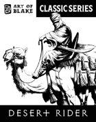 Classic Stock Art - Desert Rider