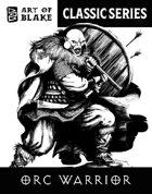 Classic Stock Art - Orc Warrior