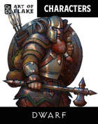 Character Stock Art - Dwarf Male - Color