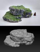 Terrain Scenery - Rock 1