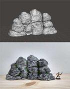 Terrain Scenery - Rock 3