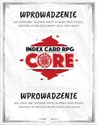 INDEX CARD RPG: Wprowadzenie
