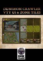 Dungeon Crawler - VTT UI & Zone Tiles