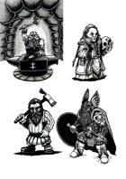 Dwarves - Stock Art