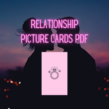 Relationship picture cards