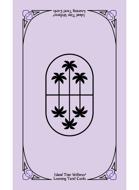 Island Time Wellness Learning Tarot Cards | Purple | Palm Back | Tarot Size