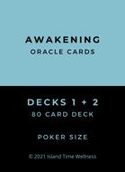 Awakening Oracle Cards Decks 1 + 2 | 80 Poker Sized Cards | ADD DECK BOX