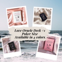 Love Oracle Cards | Poker Size | Has Twin Flame + Soulmate Cards