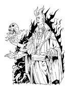 Spot Art - Devil's Bargain - RPG Stock Art