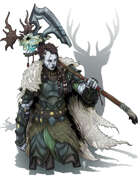 Character Art - Goliath Barbarian - RPG Stock Art
