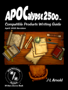 APOCalypse 2500™ Compatible Products Writing Guide