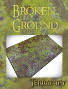 Broken Ground Gaming Mat 1.5x1.5