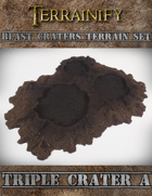 Blast Craters: Triple Crater A