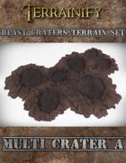 Blast Craters: Multi Crater A