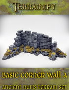 Ancient Ruins: Basic Corner Wall A