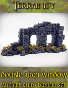 Ancient Ruins: Double Arch Window