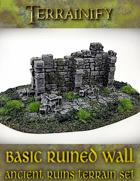 Ancient Ruins: Basic Ruined Wall