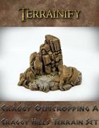 Craggy Outcropping A