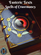 Esoteric Texts: Spells of Cruormancy