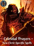 Celestial Prayers: New Cleric-Specific Spells