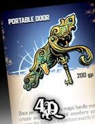 Portable Door - Magic Treasure Card