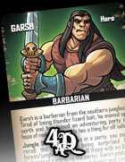 Garsh - Hero Card