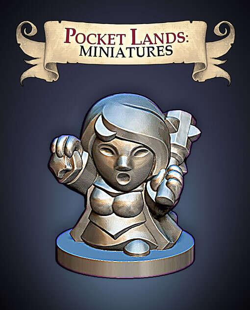 Pocket Lands Miniatures: Cleric