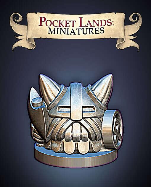 Pocket Lands Miniatures: Dwarf