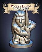 Pocket Lands Miniatures: Barbarian