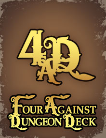 Four Against Dungeon Deck