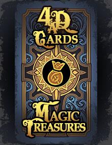 Magic Treasure Card
