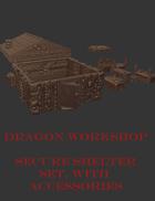 "Secure Shelter (4"" house)"