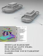 ShipWorks Barge Set