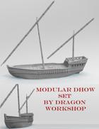 ShipWorks Dhow Set