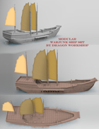 Modular War Junk Ship Set