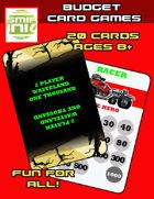 2 Player: Wasteland 1000 racing card game
