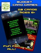 2 Player: Bounty hunter card game