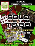 Solo To Go Zombie Set 3