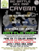 9 sheet BATTLEMAP HEX CAVERN