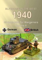Cover and Introduction. Blitzkrieg in the West 1940 Volume II 50 Wargame Scenarios British vs Germans. pdf